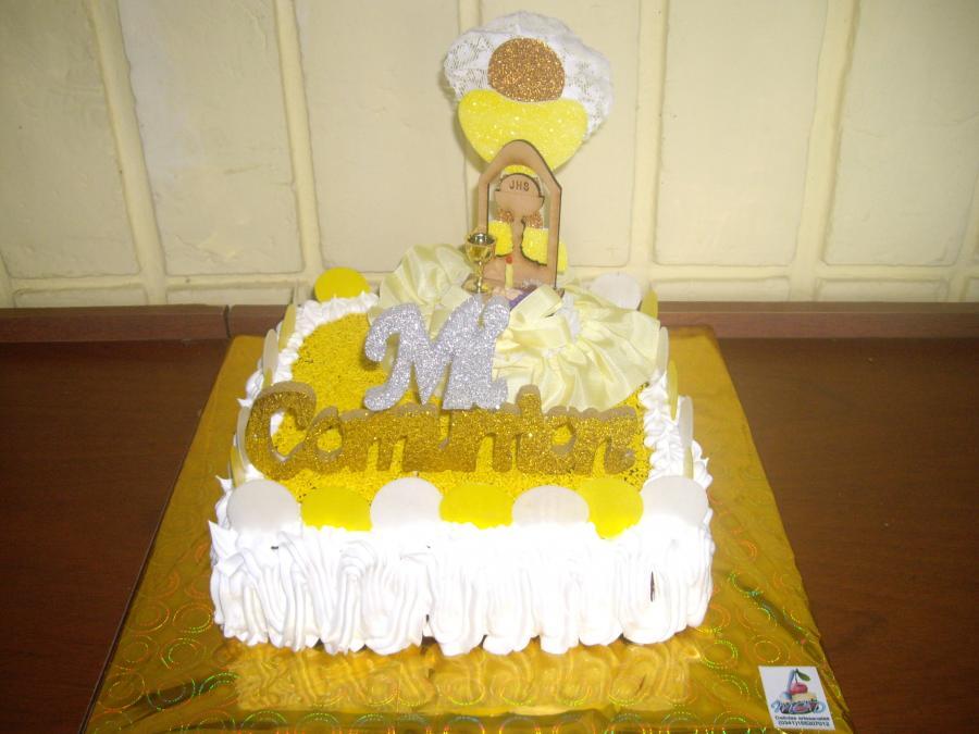 tortas de comunion con golosinas